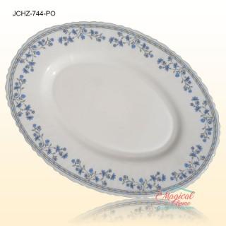 Platou oval opal 744 decor floral clasic