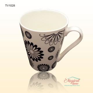 Cană ceramică TV1028 decor rustic
