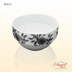 Bol ceramic BC01-3 decor floral