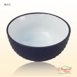 Bol supă ceramic BL4-2 decor uni violet