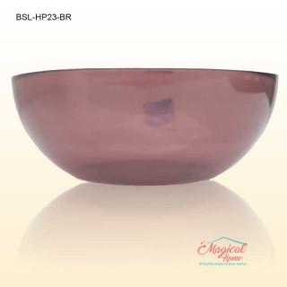 Bol salata sticla termica 23cm HYA PURPLE Bormioli Rocco