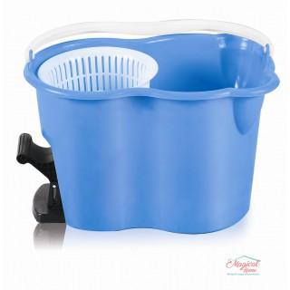 Set curățenie cu mop rotativ Spin & Go, Grunberg, albastru