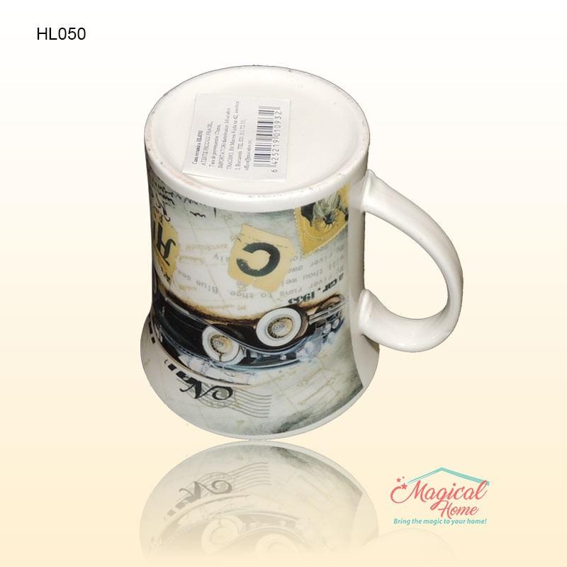 Cana ceramica HL050 decor vintage