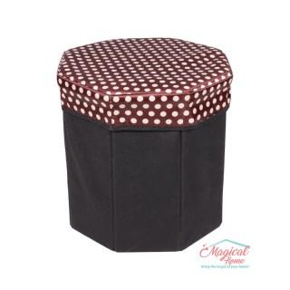 Cutie depozitare tip taburet hexagonala CD1-01