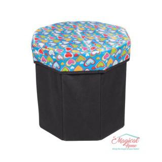 Cutie depozitare tip taburet hexagonala CD1-03