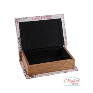 Cutie mare pentru bijuterii 1102 pictată, din lemn