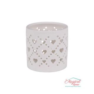 Suport lumânare pastilă, ceramic 110-5