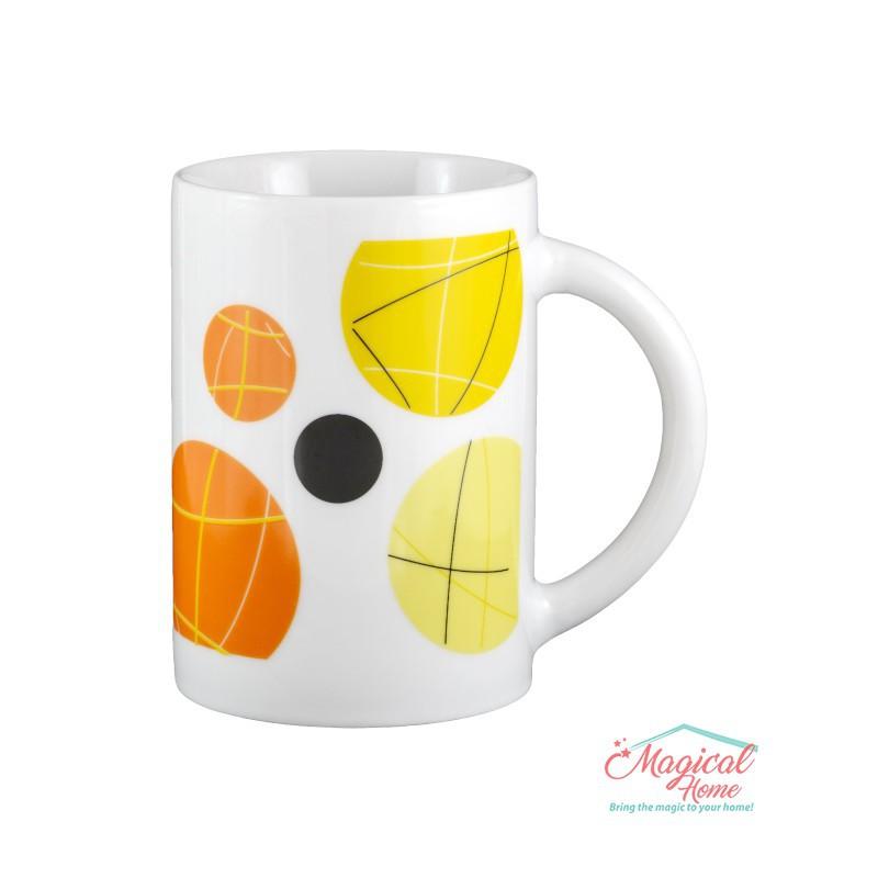 Cană ceramică 1085-03 decor geometric