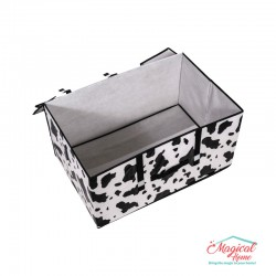 Cutie depozitare CDPC1-07, decor animal print, 60x40x30cm