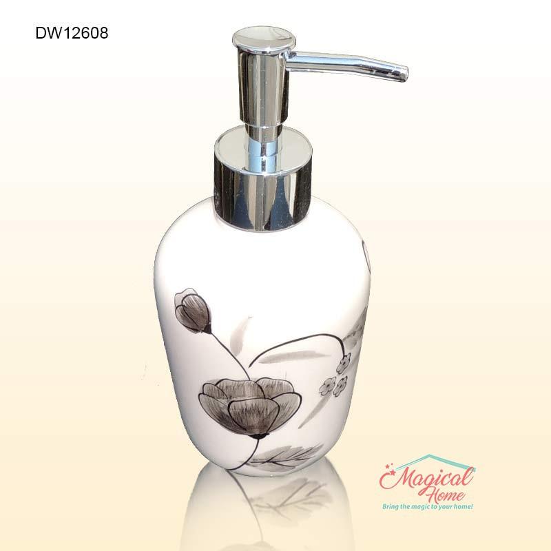 Set ceramic pentru baie DW12698 dozator sapun lichid