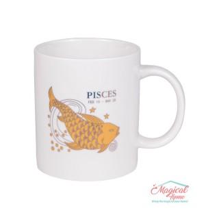 Cană ceramică Horoscop Aurie A15-Pesti