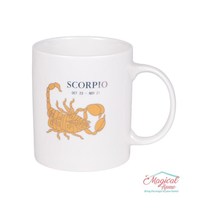 Cană ceramică Horoscop Aurie A15-Scorpion
