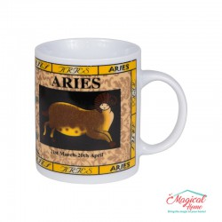 Cană ceramică Horoscop Multicolora A18-Berbec