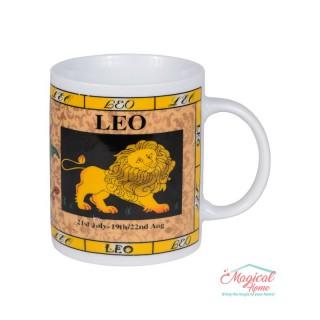 Cană ceramică Horoscop Multicolora A18-Leu