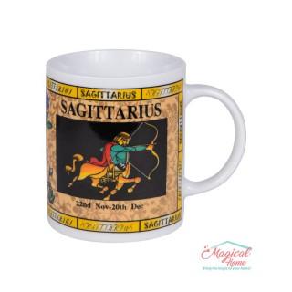 Cană ceramică Horoscop Multicolora A18-Sagetator