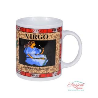 Cană ceramică Horoscop Multicolora A18-Fecioara