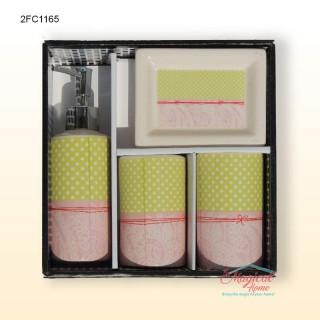 Set ceramic pentru baie 2FC1165 - mod de ambalare