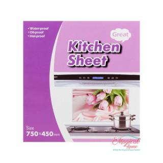 Folie protecție perete bucătărie 75x45cm 00650-07