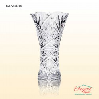 Vază sticlă pentru flori 20 cm COK ARALIA