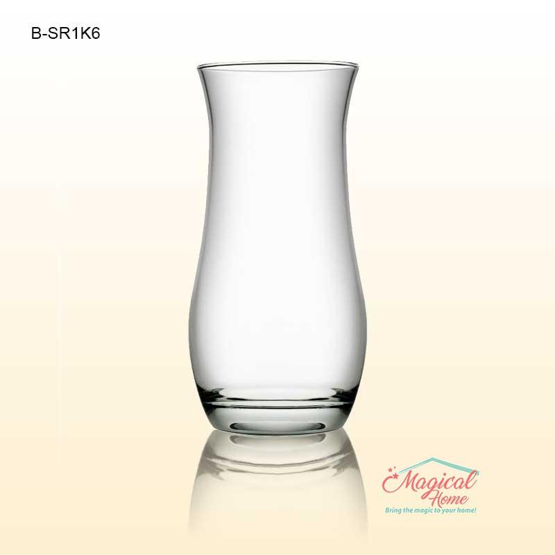 Vaze sticla pentru flori 20,5cm COK B SR1K6