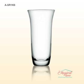 Vază sticlă pentru flori 20,5cm COK A SR1K6