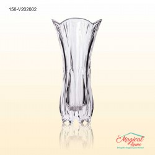 Vază sticlă pentru flori 20 cm COK Dalia