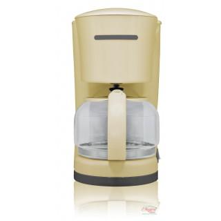 Filtru de cafea 870 W, 10-12 Ceşti, Crem, Victronic, VC885