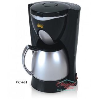 Filtru de cafea 550 W, 4-6 Ceşti, Inox , Victronic, VC601
