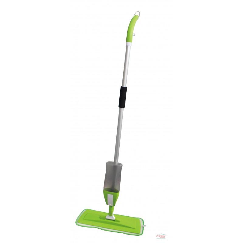 Mop plat cu spray 2 in 1 , Grunberg, verde GR468