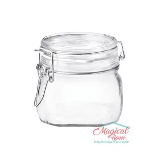 Borcan sticlă ermetic 500ml Fido Brmioli Rocco