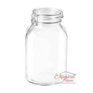 Mai multe despre Borcan sticlă ermetic 3L Fido Bormioli Rocco