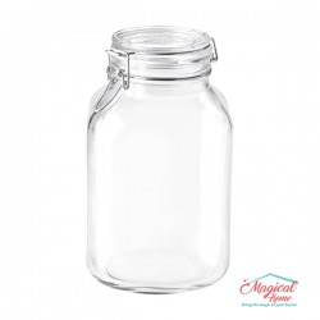 Borcan sticlă ermetic 3L Fido Bormioli Rocco