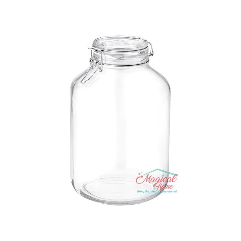Borcan sticlă ermetic 5L Fido Bormioli Rocco