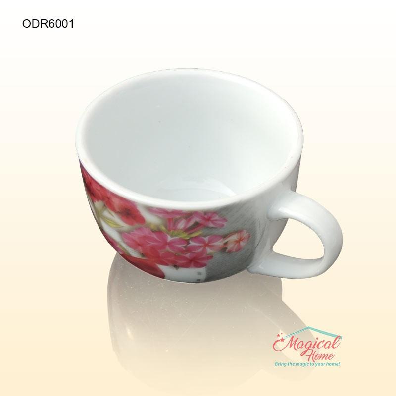 Set ceramic pentru ceai 1 persoana cu 2 piese ODR-6001