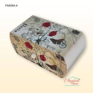 Cutie pentru bijuterii din lemn FA008A-4