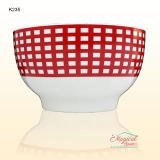 Bol ceramic K235 variante decor elemente moderne