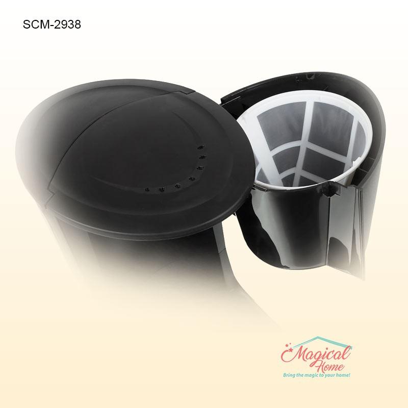 Cafetiera filtru cafea SCM 2938 Sinbo Detaliu filtru mecanic