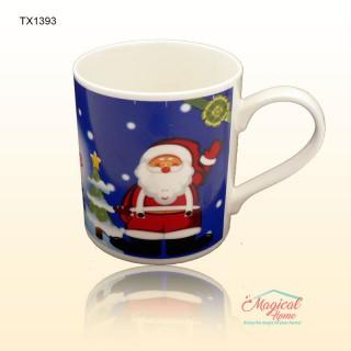 Cană ceramică decor Crăciun TX1393