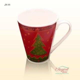 Cană ceramică decor Crăciun JY-11