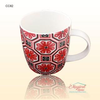Cană ceramică decor rustic CC82-01