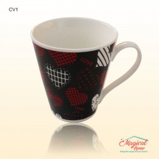 Cană ceramică decor modern CV1