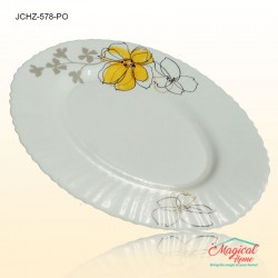 Platou oval opal 578 decor floral