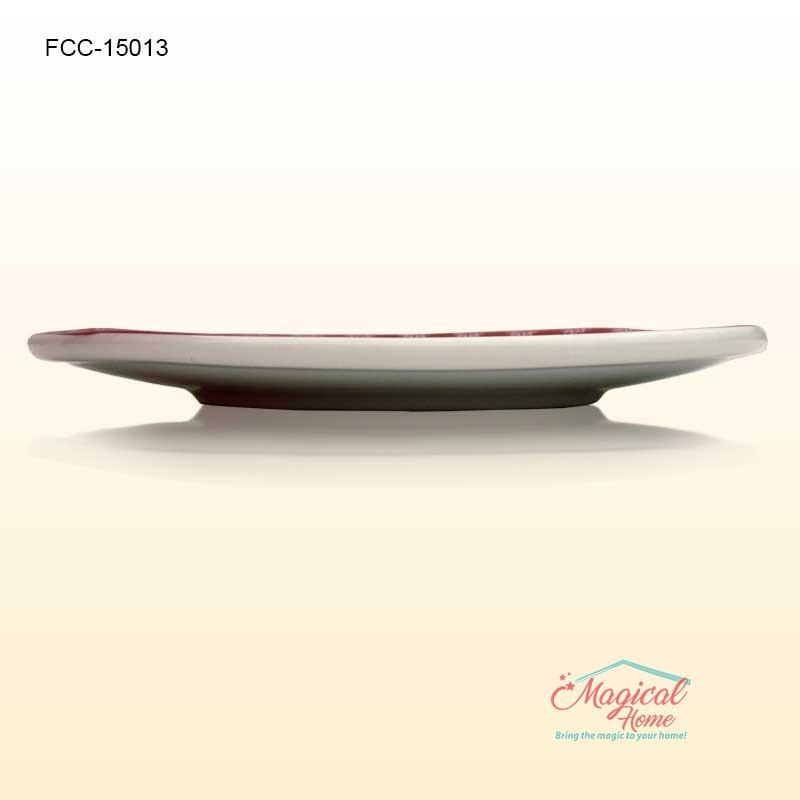 Farfurie ceramica intinsa decor Craciun 15013